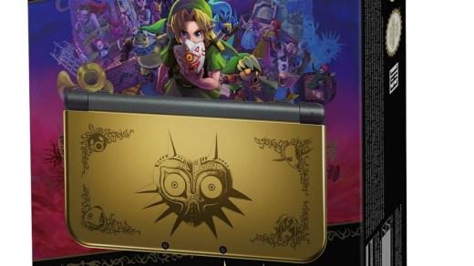 Voir la new 3DS XL Majora's Mask