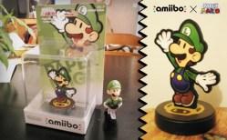 Amiibo Paper Luigi
