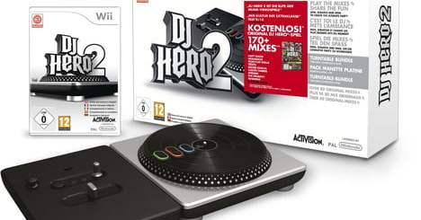 DJ Hero Wii est compatible avec la Wii U !