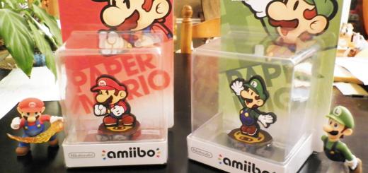 Des Amiibo Luigi et Mario customisés par un fan !