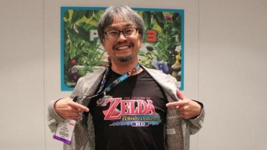 Eiji Aonuma, producteur de Zelda