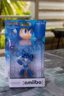 L'Amiibo Megaman dans son emballage !