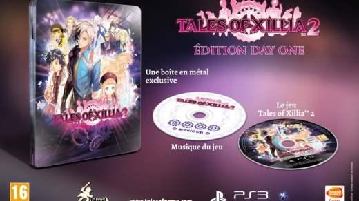 La superbe edition Day One de Tales of Xillia 2...