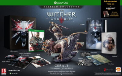 The Witcher 3 edition collector