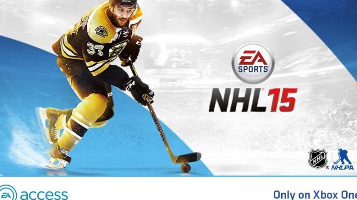 NHL 15 est intégré au EA ACCESS !