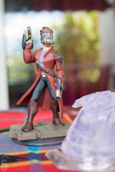 La figurine de Star-Lord, plutôt réussie, je l'admets.