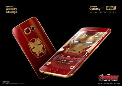 Galaxy S6 edge Iron Man edition