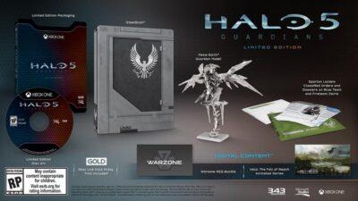Voici l'édition limitée de Halo 5 : Guardians
