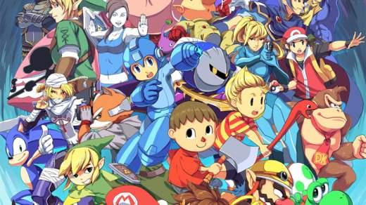 Super Smash Bros par Kamifish