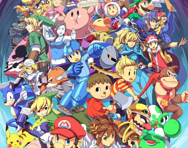 Super Smash Bros par Kamifish