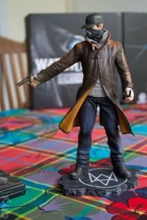 Figurine d'Aiden Pearce dans son édition collector DEDSEC