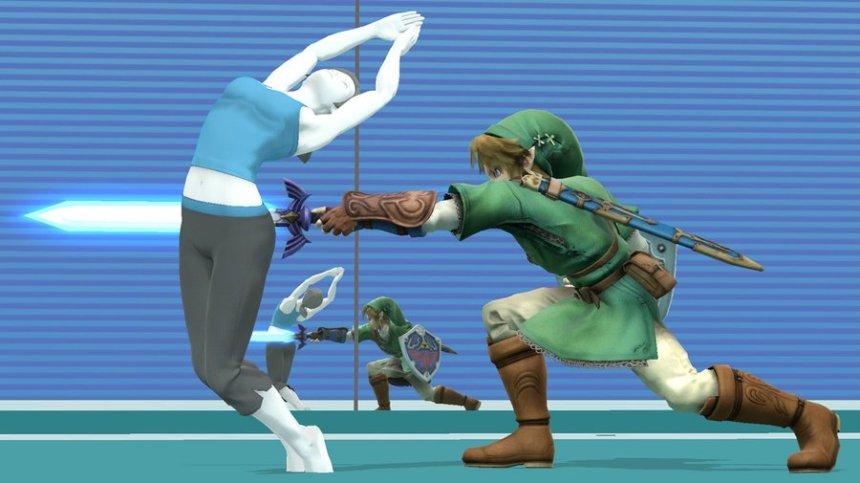 L'entraineuse Wii Fit, le personnage improbable de Smash Bros !