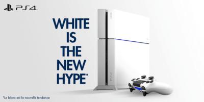 La PS4 blanc glacier à 344€ ? La classe !
