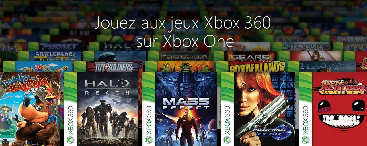 Les jeux xbox 360 compatible Xbox One !