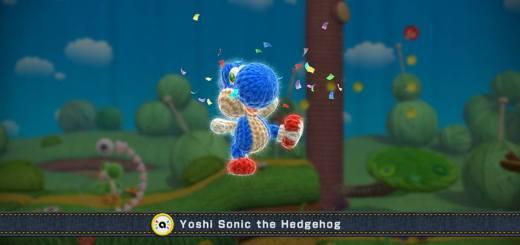Yoshi Sonic The Hedgehog est une réalité !