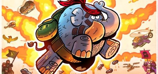 Tembo, the (really) BADASS elephant !
