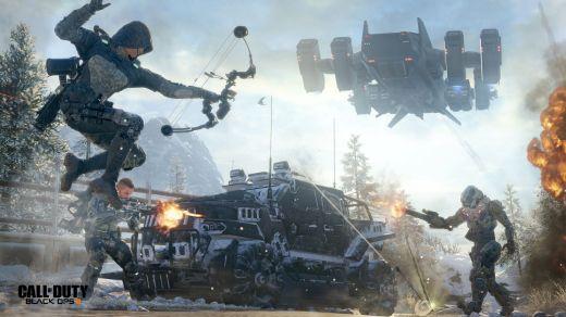 Après COD AXW, Black Ops III continue dans les univers futuristes...