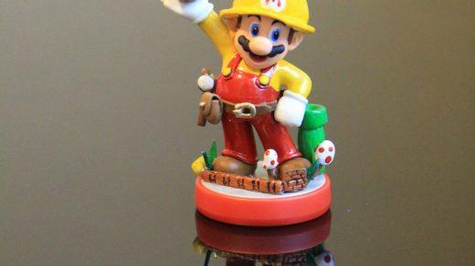 Amiibo customisé Super Mario Maker