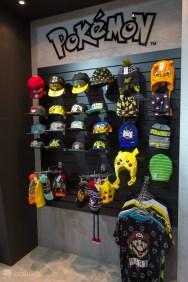 Les casquettes Pokémon présentées