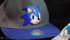La casquette rétro pixel Sonic