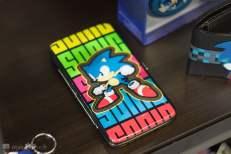 Un portefeuille Sonic rétro
