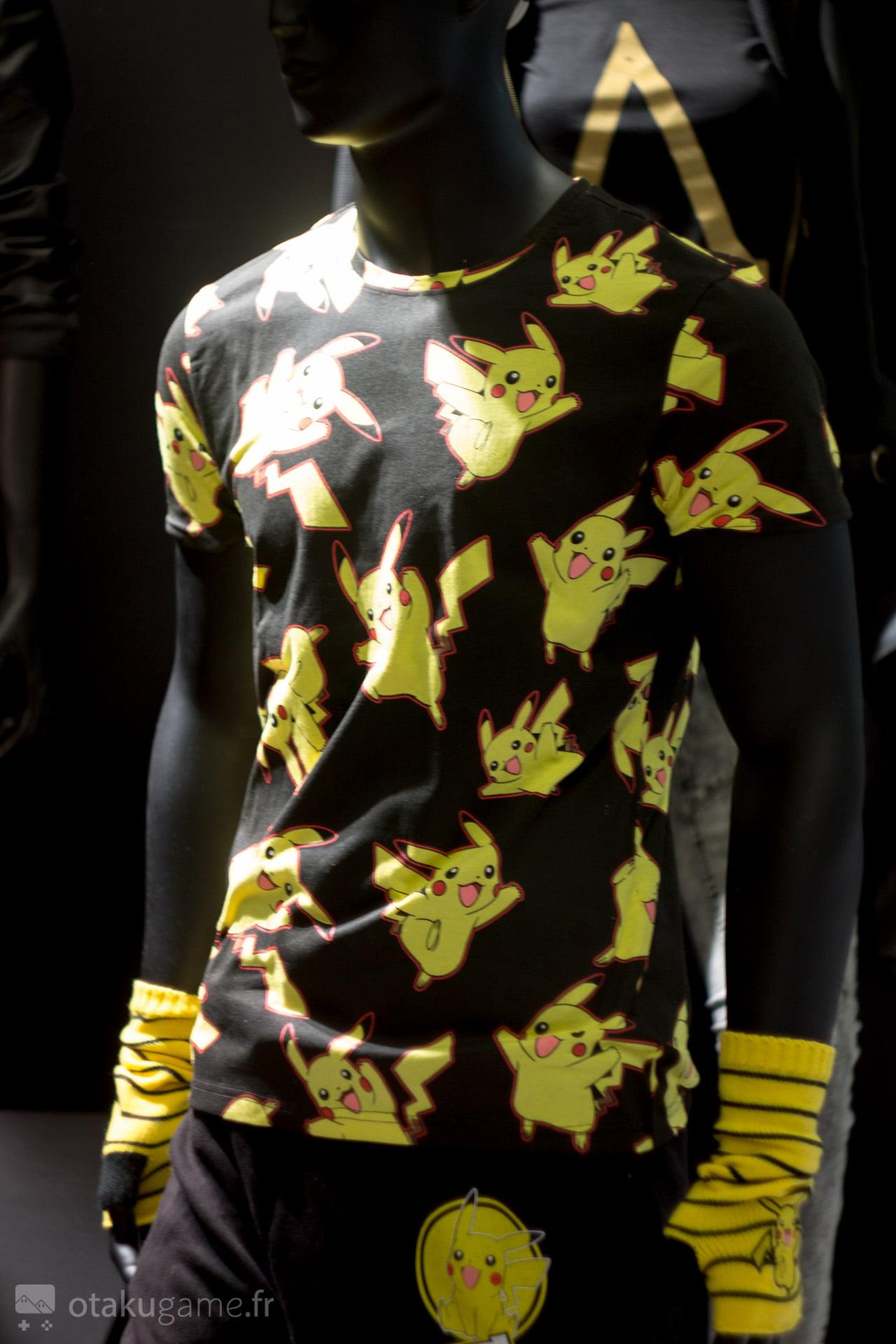 Exclusif : Le T-Shirt Pikachu de la gamme Bioworld 2016 !