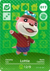 Carte Animal Crossing