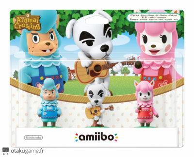 Pack of 3 Amiibo Animal Crossing