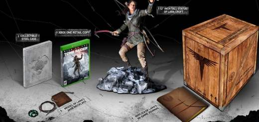 Rise Of The Tomb Raider dans son édition Collector