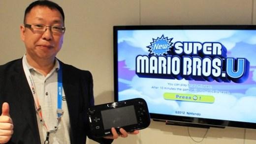 Takashi Tezuka a travaillé sur New Super Mario Bros sur Wii U!