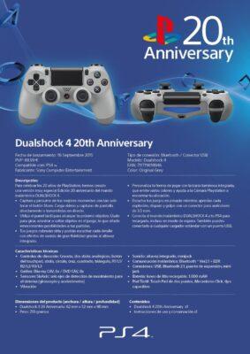 La Dualshock 4 20th Anniversary est donc annoncée à 69€99 !