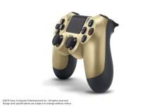 DualShock 4 Gold... Elle irait bien avec le Macbook de la même couleur, non ?