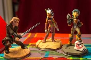 Les figurines Star Wars ont vraiment un bon rendu.