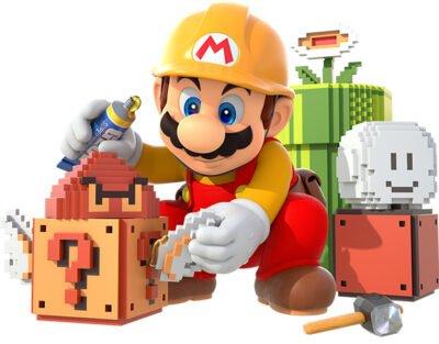 L'artbook de Super Mario Maker est juste sublime.