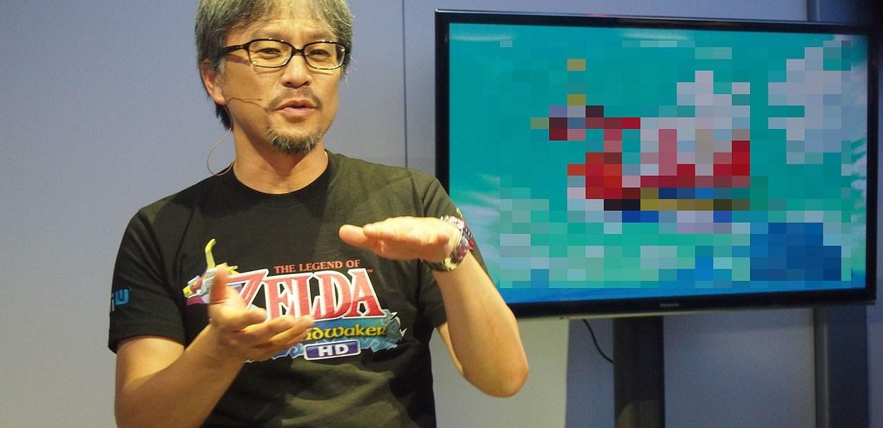 Eiji Aonuma, producteur de Zelda.