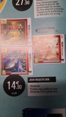 14€90 l'excellent jeu 3DS chez Leclerc ? Je dis oui !