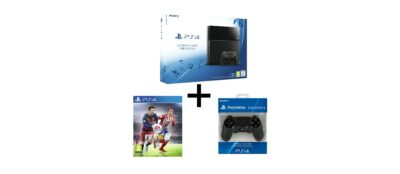 Promo PS4 + FIFA 16 + seconde manette à 399€