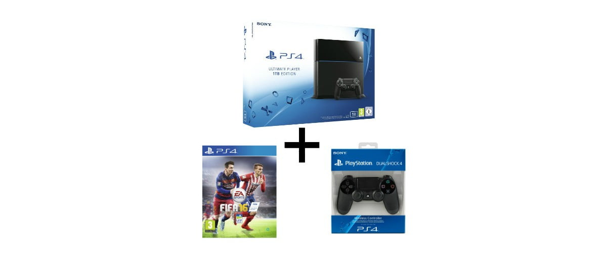 promo la ps4 1to fifa 16 ou gta v 1 manette 399. Black Bedroom Furniture Sets. Home Design Ideas
