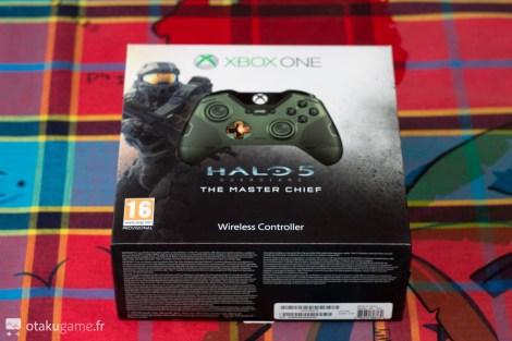 La manette collector Halo 5 Guardians Master Chief est enfin arrivé chez Otakugame.fr !