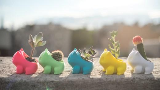 Avouez que ces pots à plante Bulbizarre sont ultra kawai !
