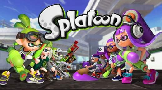Splatoon Sur Wii U