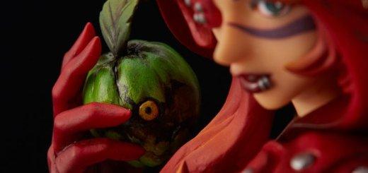 La figurine du Chaperon Rouge de Soul Sacrifice Delta est vraiment magnifique...
