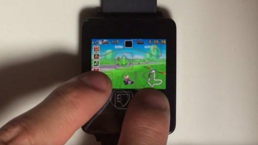 Jouer à la Gameboy Advance sur une montre Android