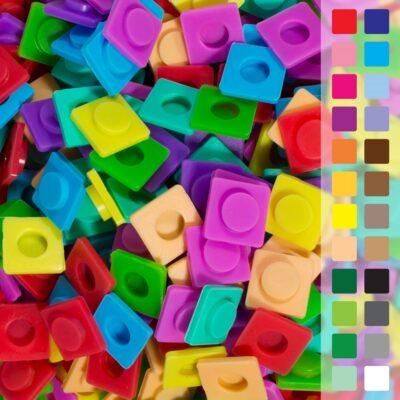 Il existe actuellement 24 couleurs différentes