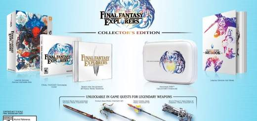 Final Fantasy Explorers édition Collector