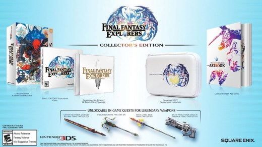 Final Fantasy Explorers édition Collector