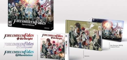 L'édition collector de Fire Emblem Fates