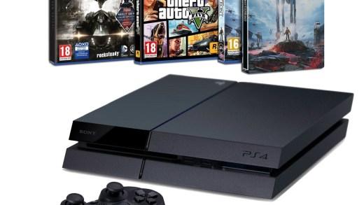 La PS4 + 3 hits en puissance à 349€ ! Le cadeau de Noël idéal !