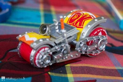 Respect aux designers de ce Kart Donkey Kong !!!