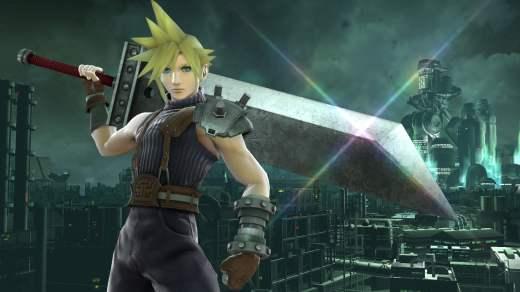 Cloud de Final Fantasy VII arrive dans Super Smash Bros